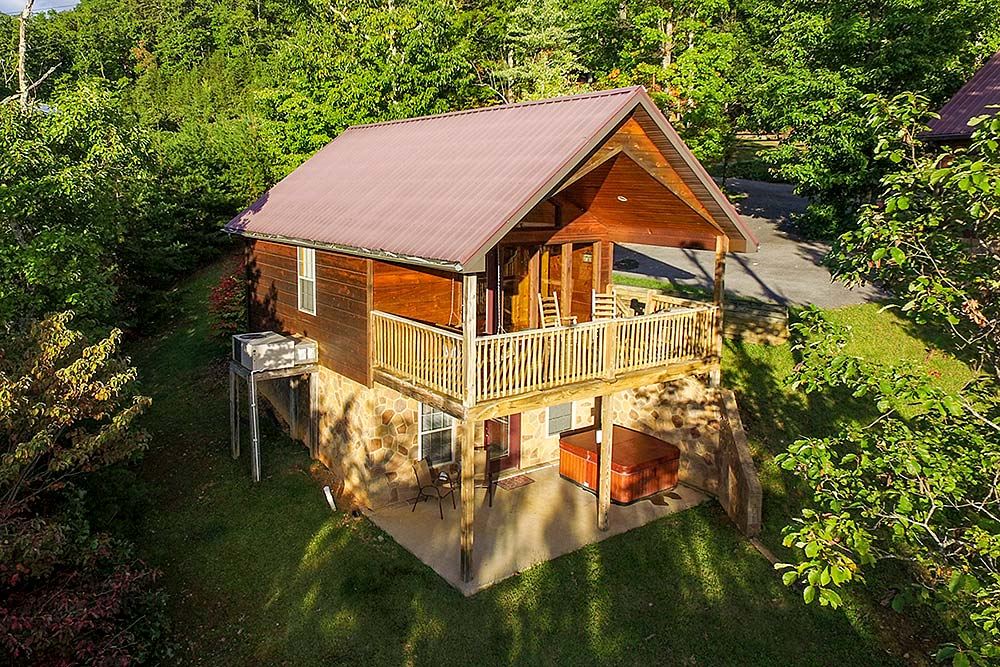 Pigeon Forge Smoky Mountain Rental Cabins Offered By Volunteer
