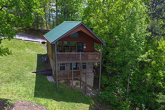 Pigeon Forge Cabin Rentals Book One Bedroom Cabins In Pigeon Forge Tn