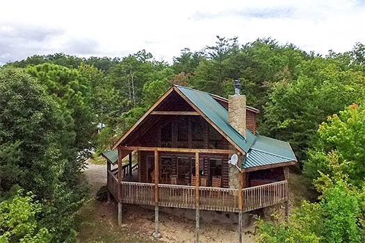 Pigeon Forge Cabins With Two Bedrooms Near Gatlinburg